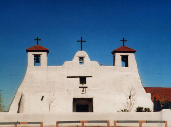 Isleta Pueblo Church